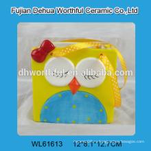 Ящик для хранения совы из керамики с креативным дизайном