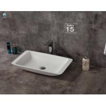 Luxus-Waschbecken und Waschbecken aus Stein Waschbecken Sanitärkeramik