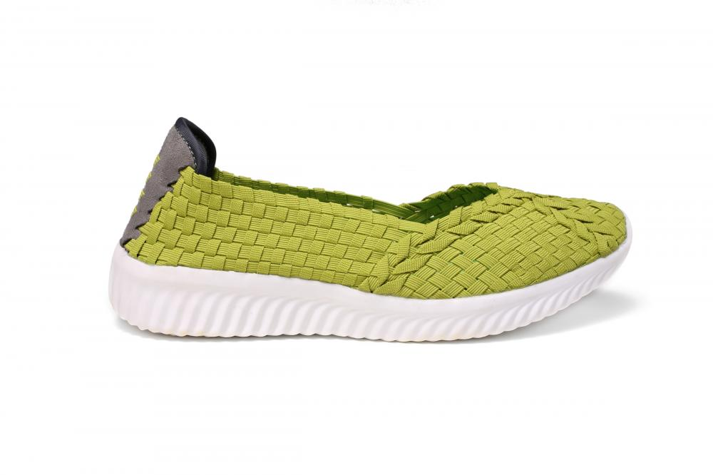 Candy-colored Casual Woven Shoes