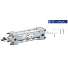 Cilindro estándar de amortiguador de aire serie CA2