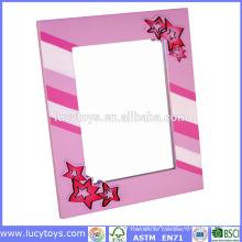 wooden girl creation photo frames