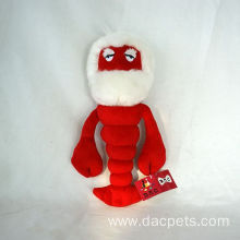 Plush cartoon toy lobster