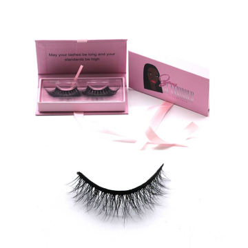 607 Hitomi eyelash vendor customized boxes 100 % Mink Eyelashes paper eyelash packaging 3d real mink eyelash