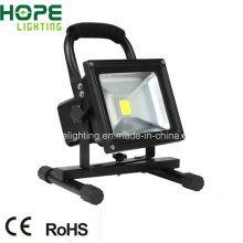 30W Rechargeable LED Floodlight with Cheap Price CE/RoHS/IP65 Approved