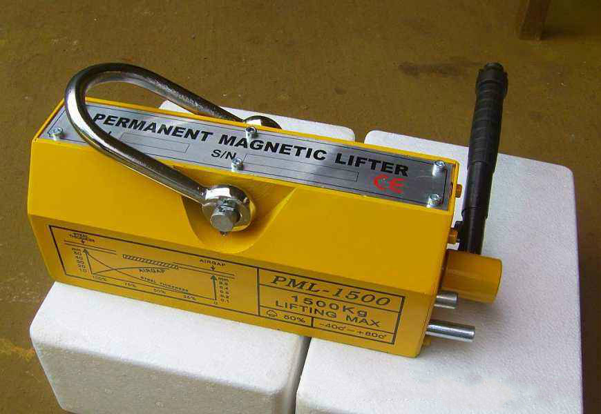 magnetic lifter for steel plate
