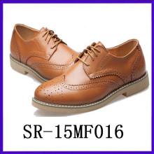 Zapatillas elegen PU zapatos de punta-dedo del pie para los hombres funtional zapatos