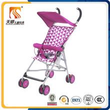 Top Popular portable 8 EVA Wheels Purple Baby Buggy From Hebei Tianshun Factory