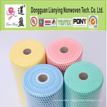 Hot-Selling Blue Nonwoven Polyester Wadding Cleaning Products