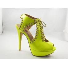 Chaussures habillées pour femmes à talons hauts Chuncky (HCY03-113)