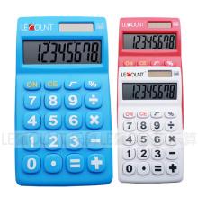 8 chiffres Calculatrice de poche à double alimentation avec grandes touches (LC317A)