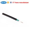Cable de fibra óptica GYXTW Cable de fibra óptica de 4 núcleos para exteriores