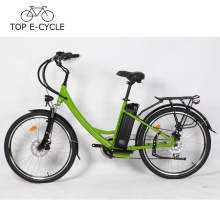 CE EN15194 pas cher vélo électrique E-Bike 36V 300W City Lady vélo électrique Chine