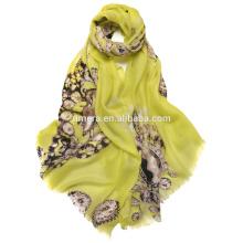 wholesale 100% cashmere scarf SCR0002unique Design inner Mongolia factory digital printed shawl