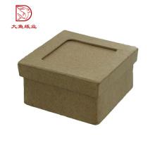 Caixa de embalagem de relógio de papel reciclável personalizado mais novo de qualidade superior