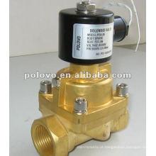 Válvula solenóide de 24v da série POA para vapor