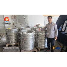 SS Coil Tubing ASTM A269 TP316L Bright Annealed