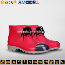 CE Steel Toe and Sole PVC men safety work boots & safety PVC gum boots