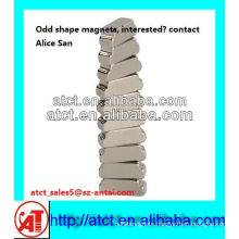 special shaped magnet,high quality ndfeb magnet