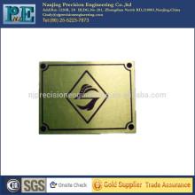 Placas de grabado de latón personalizadas de alta tecnología