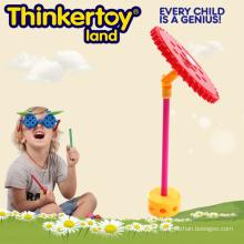 Jouet d'entraînement de compétences fines pour les enfants Microphone à thème