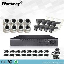 16chs 3.0MP Home Security Surveillance DVR-systeemkits