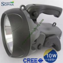Nueva antorcha, nueva linterna del LED, nueva luz de búsqueda, luz de destello