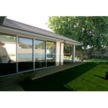 Pleasant Slimline Sliding Doppelglas Aluminium Fenster und Türen