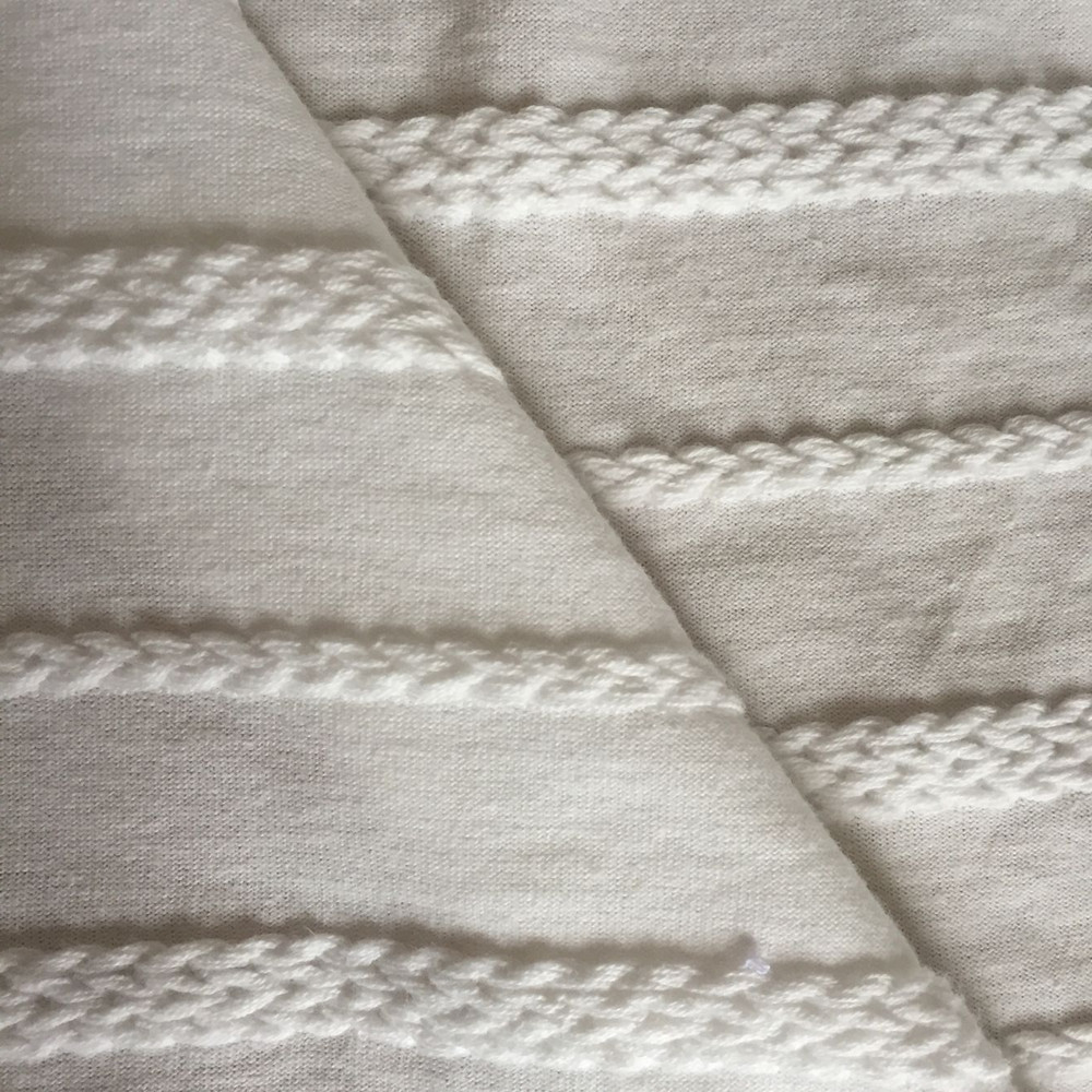 Cotton jaquard braided fabric 2