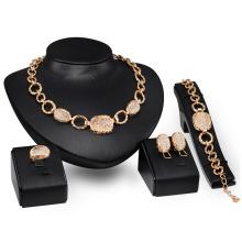 Ensembles de bijoux Chunky Fashion Metal Gold (C-XSST0060)
