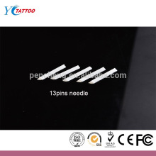 13 Prong Flat manual eyebrow tattoo needle