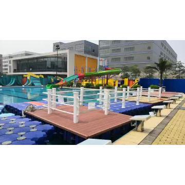 Hexagonal Water Floating Dock Plastic Pontoon Modular Useful PE Buoy High Buoyancy Pontoons Jet Ski Platform