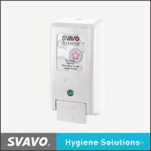 Wall Mount Manual Plastic Soap Dispenser (V-3101)