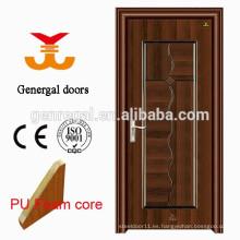 Puertas interiores rellenas de espuma con aislamiento térmico