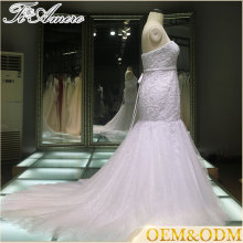 wedding dress Mermaid bridal gown China factory mermaid wedding dress
