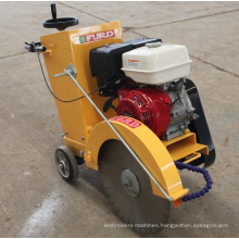 Walk-behind high speed concrete road cutter machine for povement FQG-400