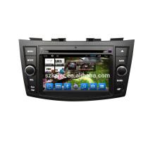 Usine Double Din android 6.0 / 7.1 voiture lecteur multimédia GPS pour Suzuki Swift / Ertiga avec Wifi BT Radio