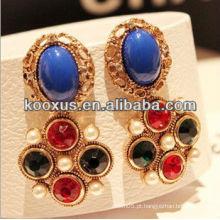 2014 nova chegada jóias estilos moda brincos