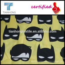 hot sale custom printing stain weave cotton fabric for sleepwear