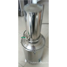 energy efficient water distiller/portable Stainless Steel Water Distiller with Water-break and Self-control