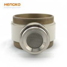 Stainless Steel Filter Porous Probe Housing Industrial Ammonia Electrochemical hydrogen Infrared CO2 Gas Sensor