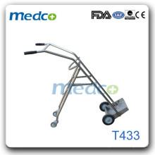 S.S Oxygen bottle cart hot T433