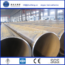 Carbone astm a106 API acier inoxydable erw pipe