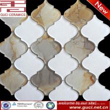 telhas de vidro misturadas de alta qualidade do mosaico no projeto acrílico