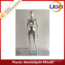 Sexy Female Egg Head Chrome Mannequin mould