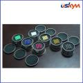 Aimant coloré de sphère de néodyme avec boîte en étain