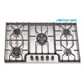 Sunflame 5 Burners 201 Level SS Brush Hob