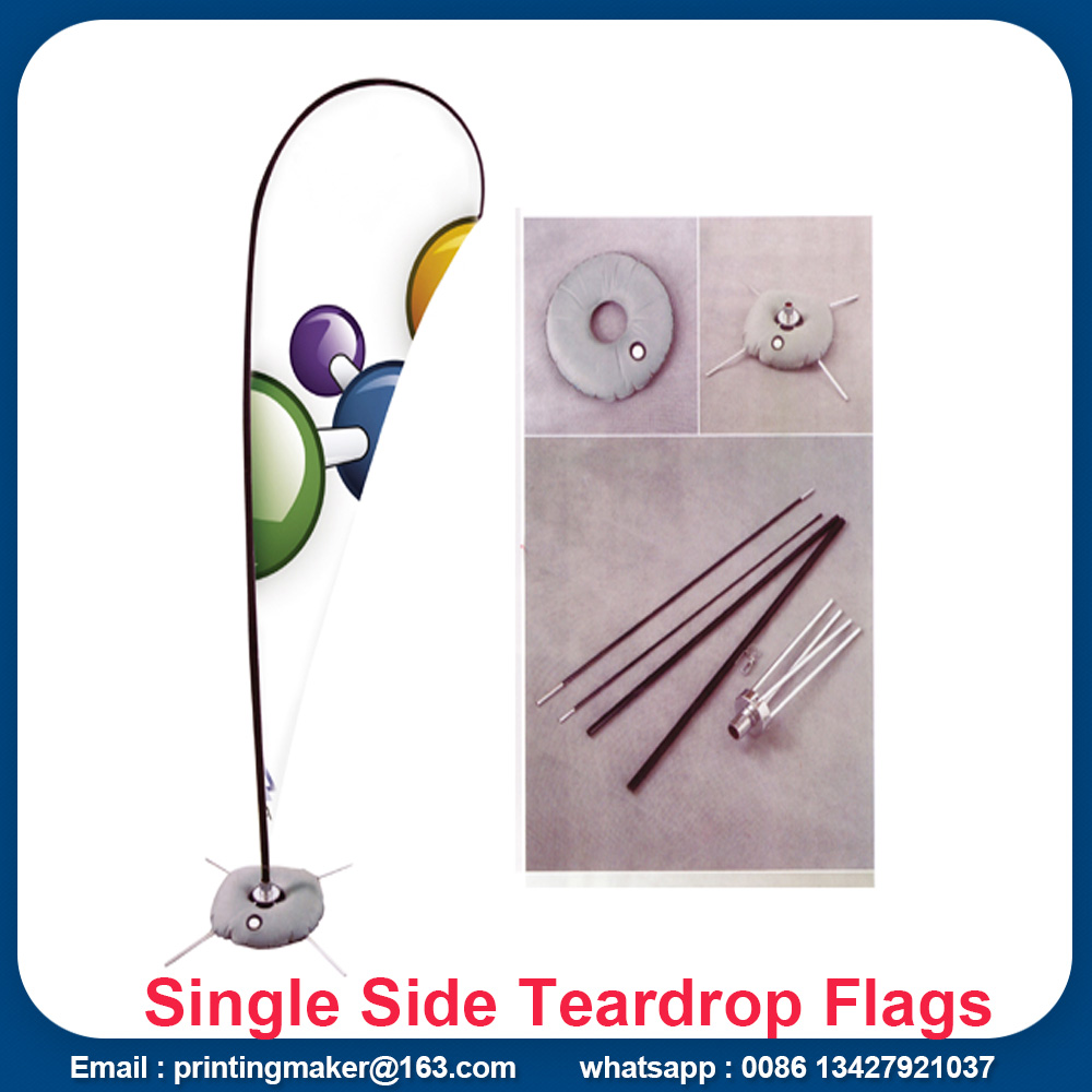 teardrop flag signs
