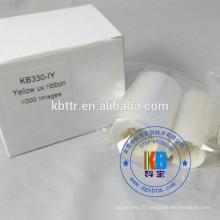 Ruban UV imprimante zèbre p330i p430i couleur bleu jaune