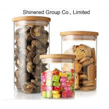 Vidro, jarro, alimento, jarro, cozinha, armazenamento, lata, hermetic, selo