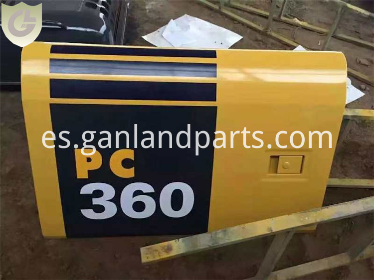 Excavator Compartment Door